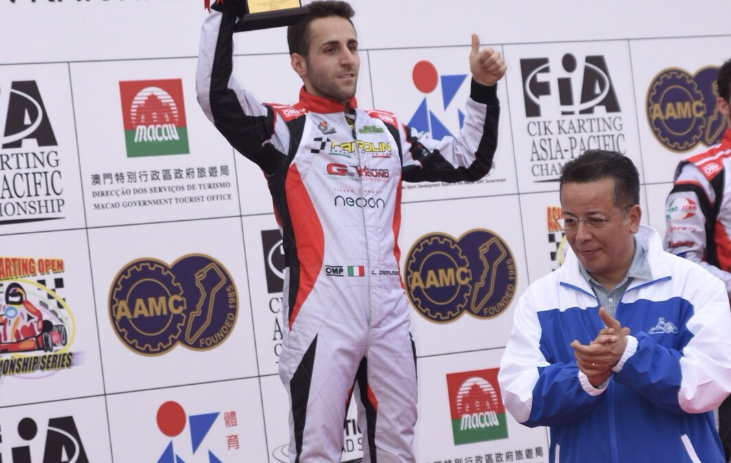 Camplese the 2015 Asia-Pacific KZ Champion in Macau